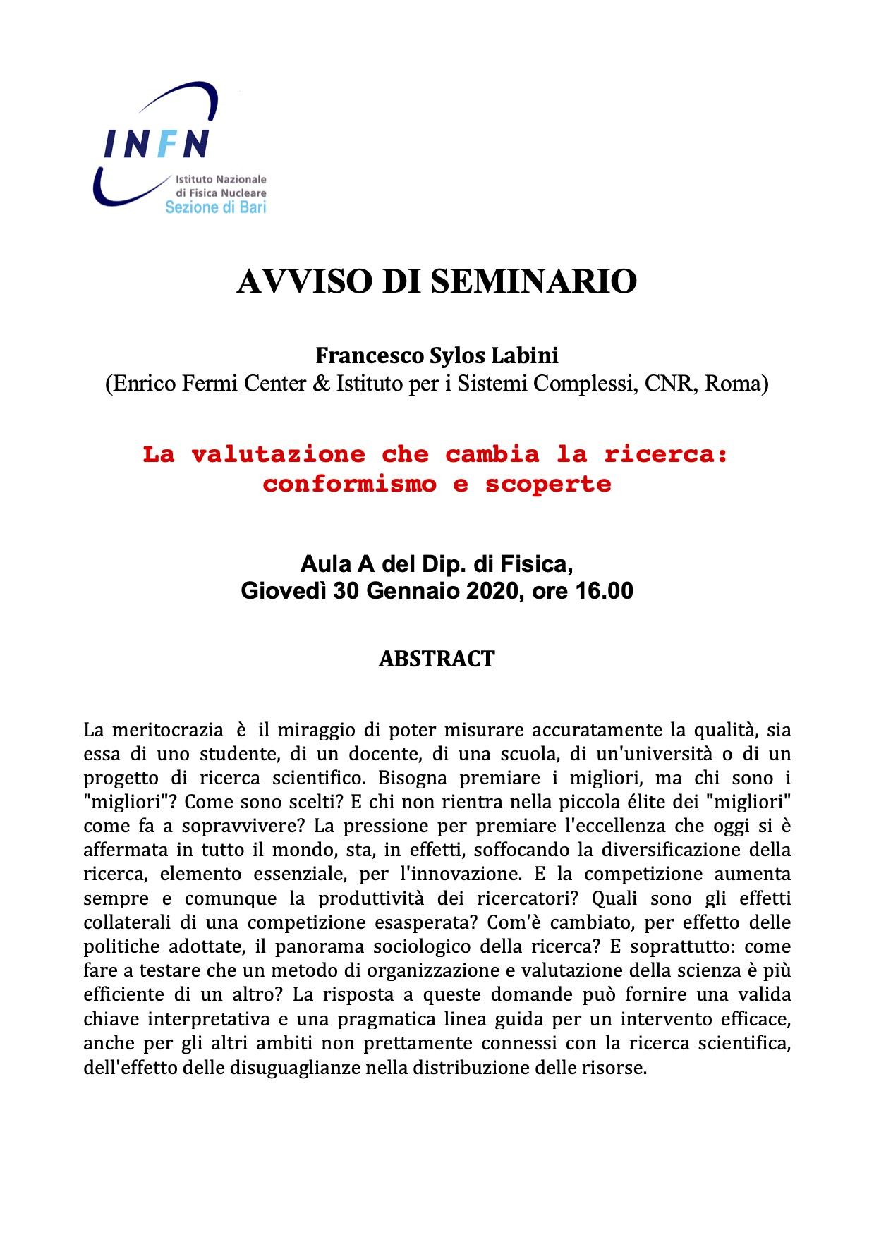 Avviso_Seminario_Labini